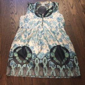 Sleeveless Ivy Jane Floral Print Dress